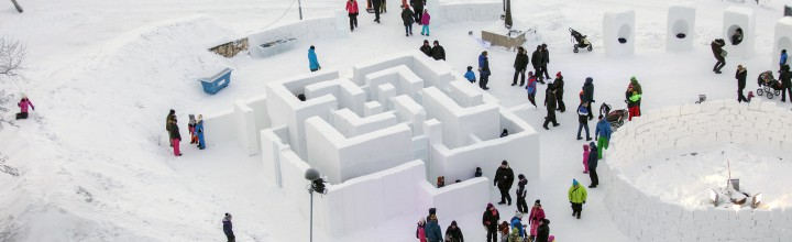 Kiruna Winter Playground in media