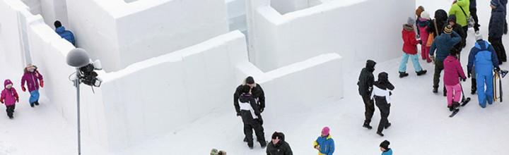 Winter Playground in Kiruna