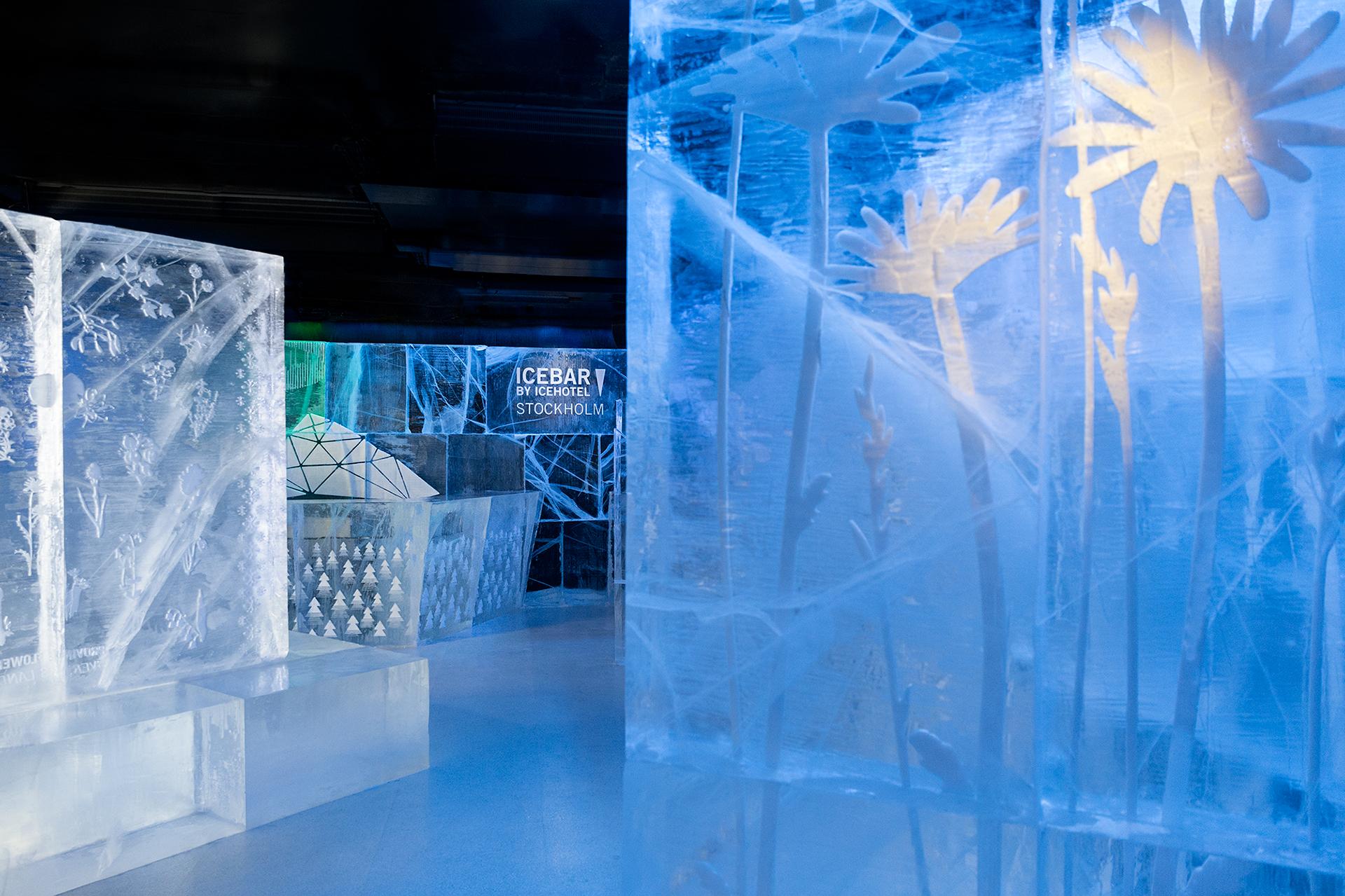ICEBAR BY ICEHOTEL STOCKHOLM, Nordic C Hotel, Northbound Adventure! Design by: Christian Strömqvist & Kalle Ekeroth