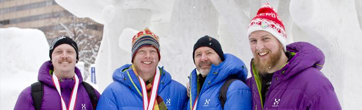 Frozen Wilderness at Sapporo International Snow Sculpture Contest 2013
